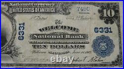 $10 1902 Welcome Minnesota MN National Currency Bank Note Bill! Ch. #6331 RARE