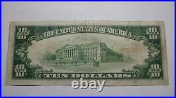 $10 1929 Turtle Creek Pennsylvania PA National Currency Bank Note Bill! #6574 VF