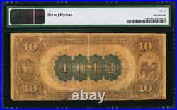 1882 $10 BROWN BACK Portland, CT Fr. 480 CH# 1013 CONNECTICUT 1 of ONLY 5