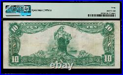 1902 $10 National Bank Note St. Louis, MO FR. 635 Charter 12389 PMG 30