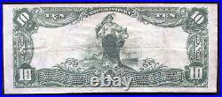 1902 $10 The Nb Of Kentucky Of Louisville, Ky National Currency Ch. #5312 Xf