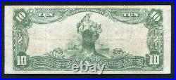1902 $10 The Security National Bank Of Rockford, IL National Currency Ch. #11731