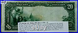 1902 $20 Blue Seal First NB HOLDEN, MO VF