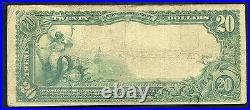 1902 $20 The First National Bank Of Scranton, Pa National Currency Ch. #77