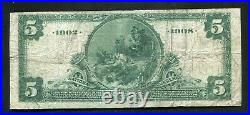 1902 $5 Db The Manufacturers & Traders National Bank Of Buffalo, Ny Ch. #6186