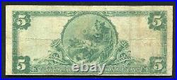 1902 $5 The Manufacturers & Traders National Bank Of Buffalo, Ny Ch. #6186 (b)