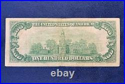 1929 $100 Federal Reserve Bank of Minneapolis National Currency Free Ship US