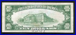1929 $10 National Central Bank Of Baltimore, MD National Currency Ch. #11207