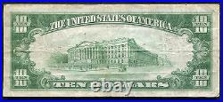 1929 $10 Oil City Nb Oil City, Pa National Currency Ch. #14274 14,000 Charter