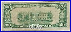1929 $20 Painesville OH FANCY LOW # A000004A National Bank Trust Note CH 13318