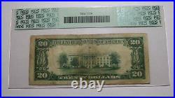 $20 1929 Clearwater Florida FL National Currency Bank Note Bill Ch. #12905 FINE