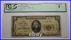 $20 1929 Tom Bean Texas TX National Currency Bank Note Bill Ch. #11019 VG8 PCGS
