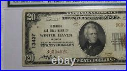 $20 1929 Winter Haven Florida FL National Currency Bank Note Bill Ch #13437 VF25