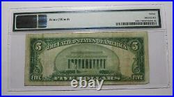 $5 1929 Rowlesburg West Virginia WV National Currency Bank Note Bill! Ch. #10250