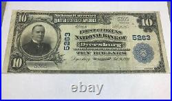 Dyersburg Tennessee, First citizens national bank, 1902 VF