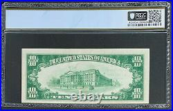 NQC Rare Low Serial Number 3 Fr. 1801-2 1929 $10 Ty. 2 National Bank Unc 62