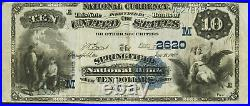 OHIO 1882 Springfield $10 Value Back Fr 577 CH# 2620 one of ONLY two notes known