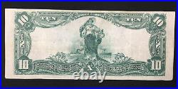 Series 1902 $10 National Currency Bank Note (Bank Of NYC Chapter # 1261)